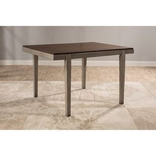 Shop for Hillsdale Furniture Garden Park Dining Table, Gray - Grey. Get free shipping at Overstock.com - Your Online Furniture Outlet Store! Get 5% in rewards with Club O! - 24024399