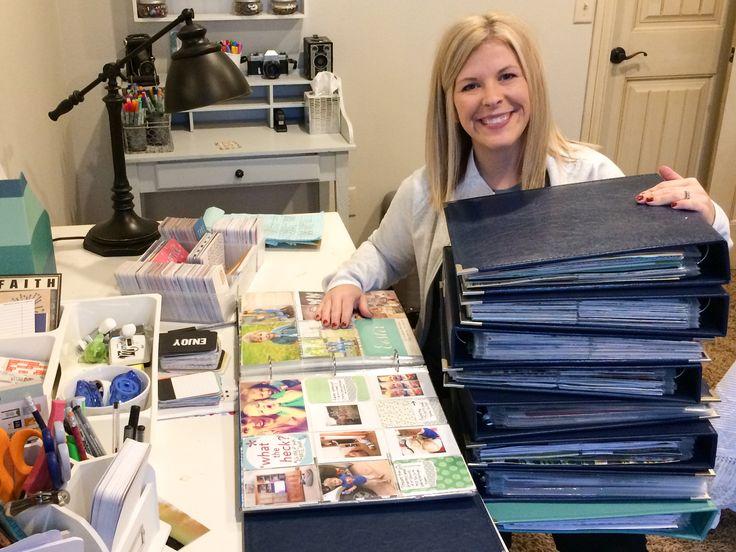 Becky Higgins - project life - alena honeycutt's creative process