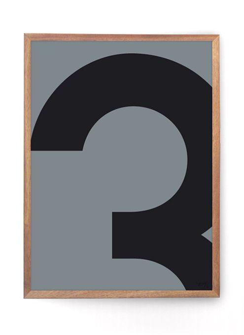 Tips til indretning, Køb grafisk designplakater til væggen, Gode ideer til boligen, Grafiske mønstre, Typografiske plakater.