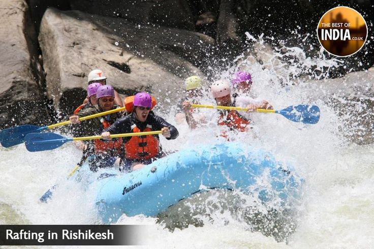 Truly astonishing and breathtaking #River #Rafting at @rishikesh which enhances the elegance of the area. GREENERY AND GRACEFUL ENVIRONMENT @rishikesh  The Best of INDIA visit: http://thebestofindia.co.uk/