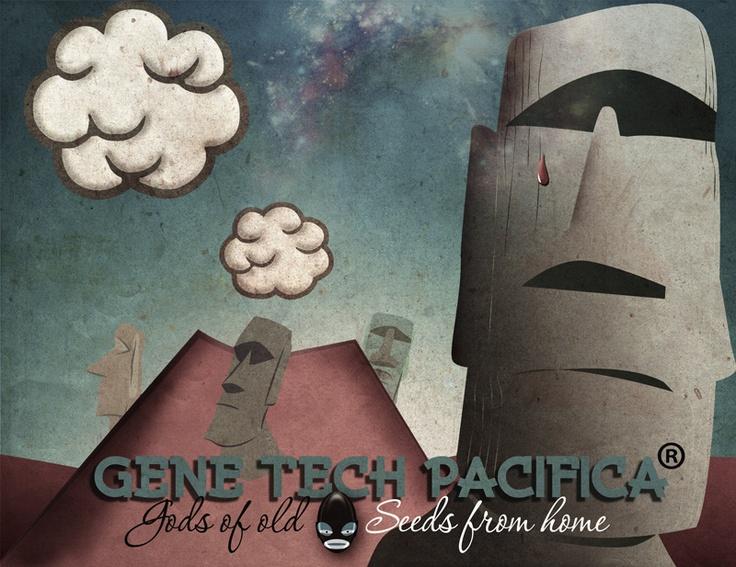 Gene Tech Pacifica - illustration: leketoys.no