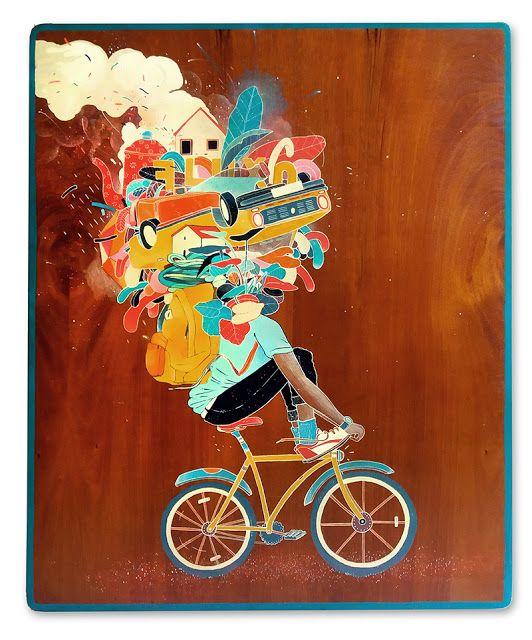 Agenda Cultural RJ: Instalado novamente no Rio, o artista multimídia m...