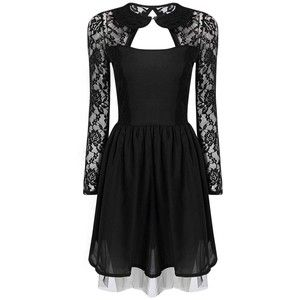 Yoins Black Lace dress