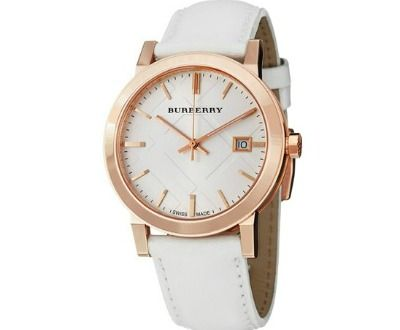 17 best ideas about burberry mens watches men s burberry men s large check white leather strap watch ►►