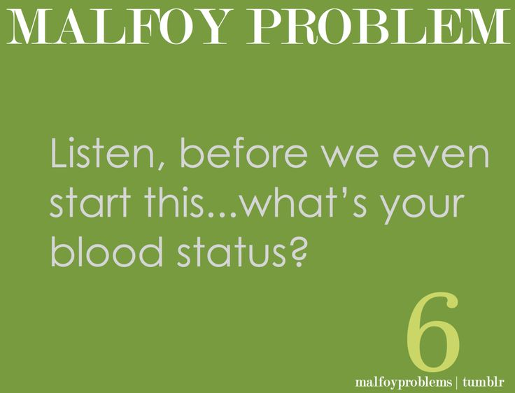 Funny stuff about Malfoy! :D