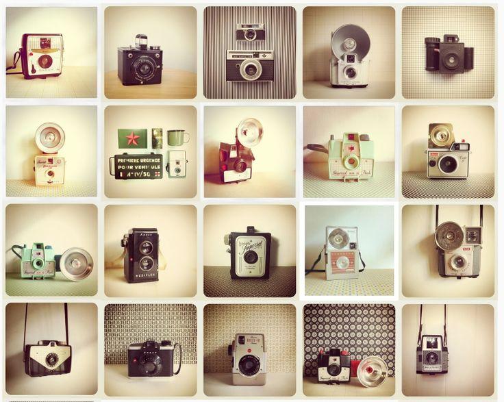 Amazing vintage cameras