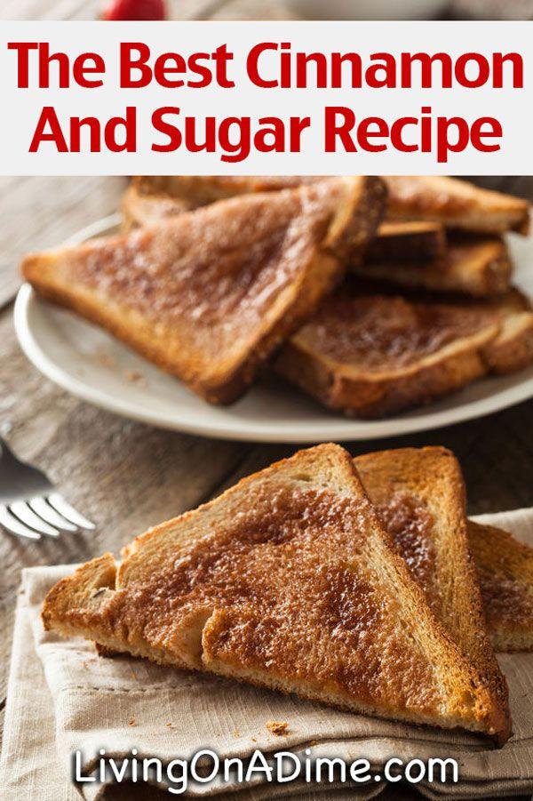 The Best Cinnamon And Sugar Recipe