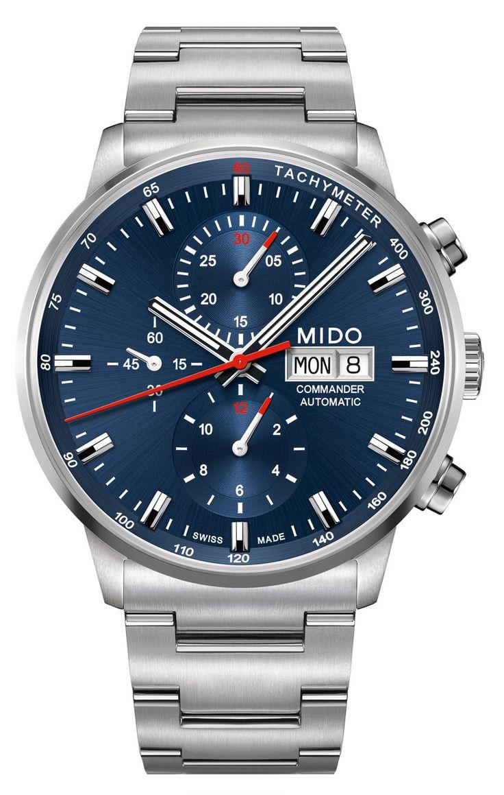 Mido: Commander Chronograph Caliber 60 – Baselworld 2015