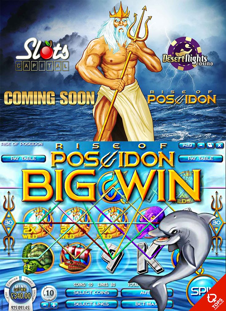 Grab these two great offers today and enjoy the Rise of Poseidon slot from the…
