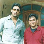 Nakul with Abhishek Bachchan
