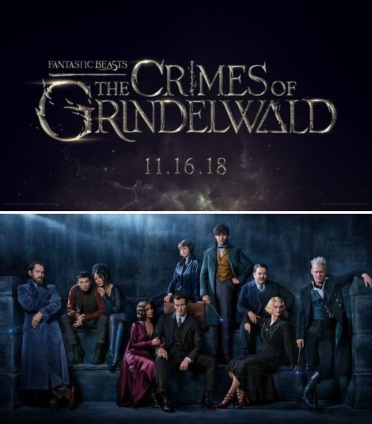 Fantastic Beasts: The Crimes of Grindelwald. In theaters November 16, 2018.