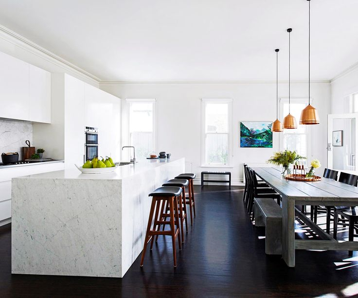 Tough love was the brief for this contemporary family kitchen in an Edwardian-era home.