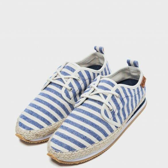 Espadrilles sneakers marinière @pepejeans #basket#sneakers#espadrilles #shoesaddict#shoesgirl#pepejeans#bretagne#breizh#bzh#lannion
