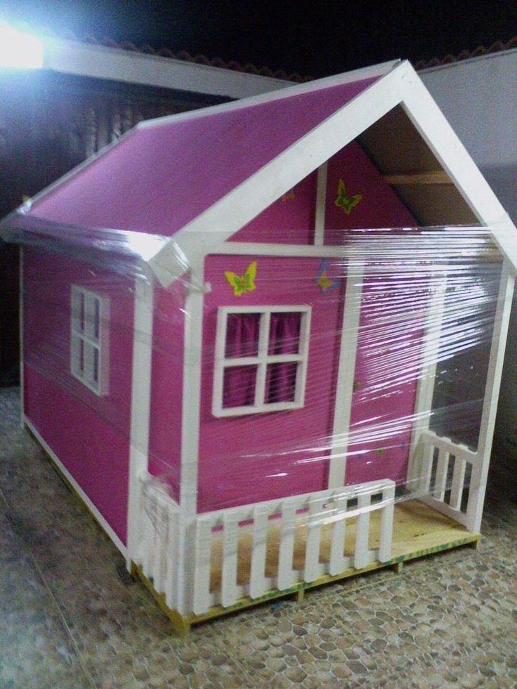 Casas de madera para ni os precios buscar con google - Casita con tobogan para ninos ...