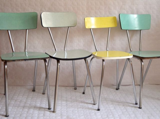 Best 25 chaise formica ideas on pinterest table en - Relooker chaise formica ...
