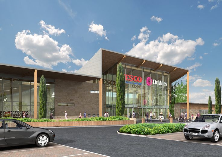 We specialise in working with clients – such as Tesco for their new superstore applications – to produce imagery that supports planning consents and public consultations.  #3d #architectural #visualisation #cgi #planning  #3DViz #ArchViz #design #retail