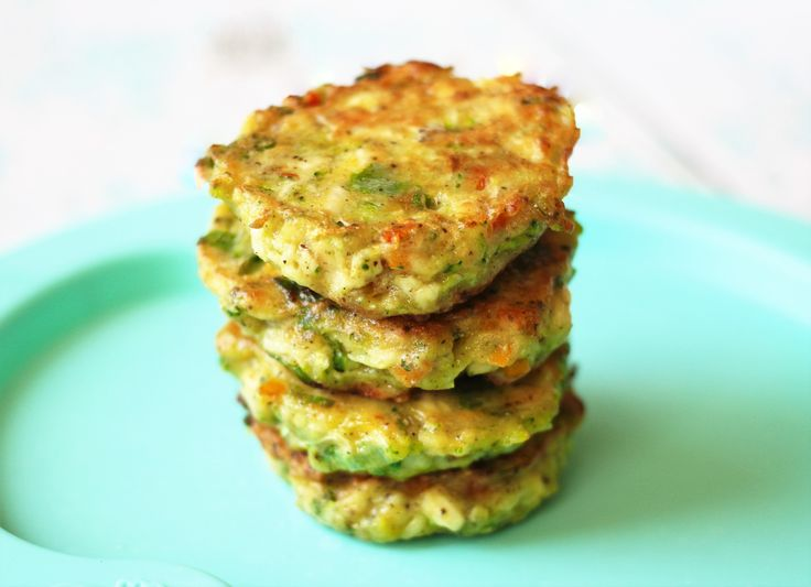 Chicken Veggie Patties - use egg replacer - Easy Toddler Meals