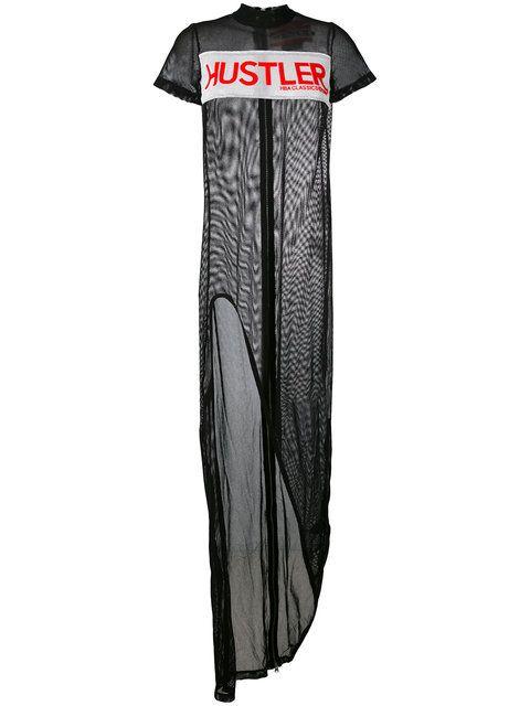 HOOD BY AIR Hustler Power Mesh Dress. #hoodbyair #cloth #dress