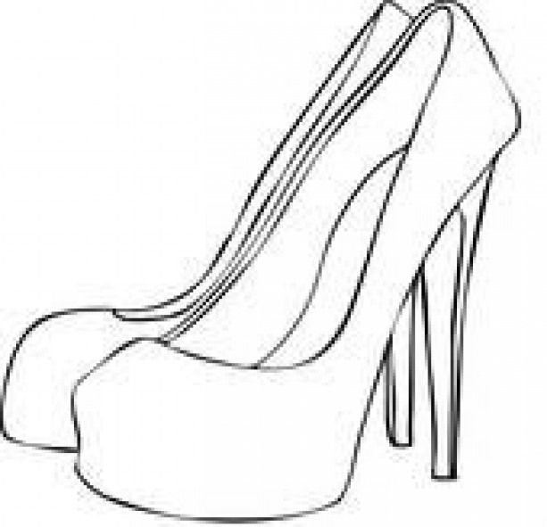 Black And White High Heels Clipart 18 Heels Heels Drawing Black And White High Heels White High Heels Drawing High Heels