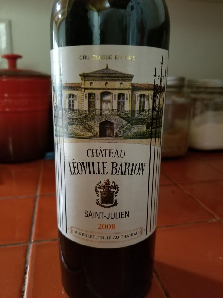 I've been holding on to this bottle of Chateau Leoville Barton Saint Julien 2008 for a few years now. Can anyone tell me when it would be best to drink? #wine #winelover #tips #vino #WineWednesday #winelovers #Italy