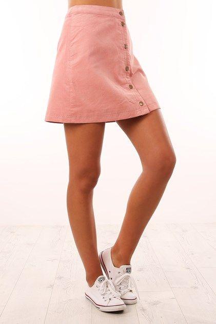 Wunderkind Mini Skirt Chalk Pink