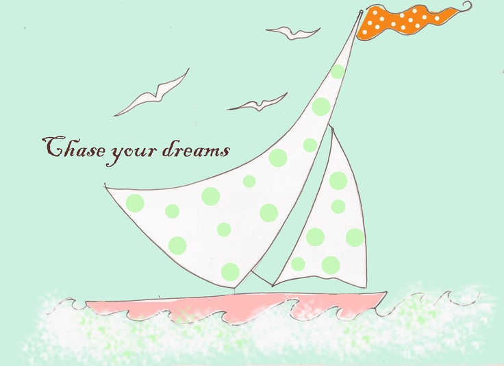 Children's Wall Art -- Chase Your Dreams - Print. $20.00, via Etsy.: Children Rooms, Art Follow, Rooms Art, Happy Colors, Art Prints, Art Chase, Children Art, Colors Children, Baby Boy