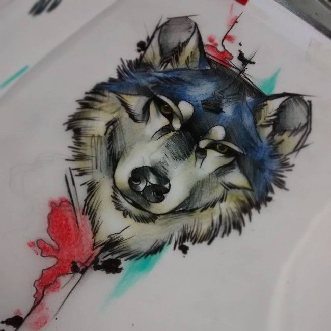 Lovely Lone Wolf Tattoos In Different Styles 2018: 106 Best Wolf Tattoos Images On Pinterest