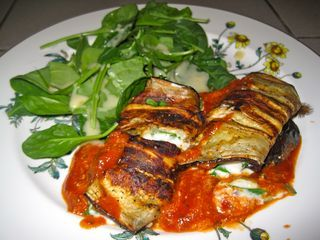Eggplant Cannelloni   Side dish   Pinterest