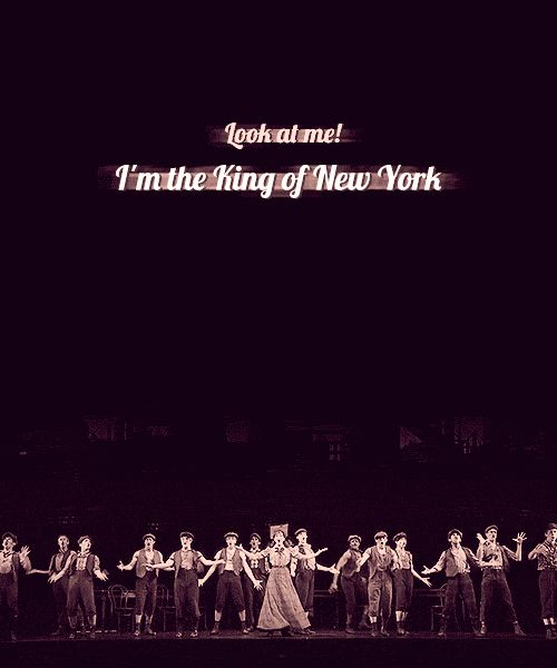 King Of New York Quotes: Newsies The Musical Quotes. QuotesGram