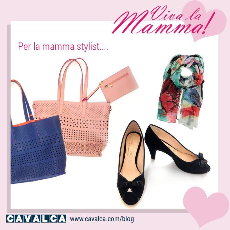 Gli accessori perfetti per festeggiare la mamma! #blog #fashion #bags #shoes #cavalca #festadellamamma #regalo