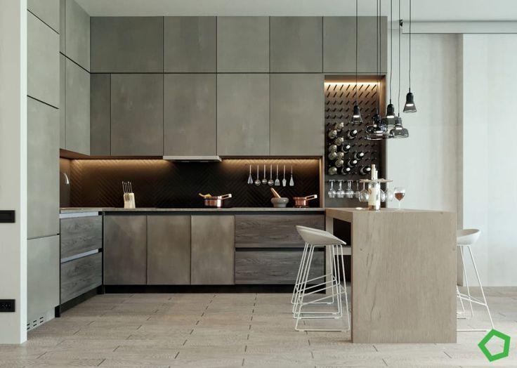 Photos de cuisine de style de style moderne en marron par polygon arch&des sur homify