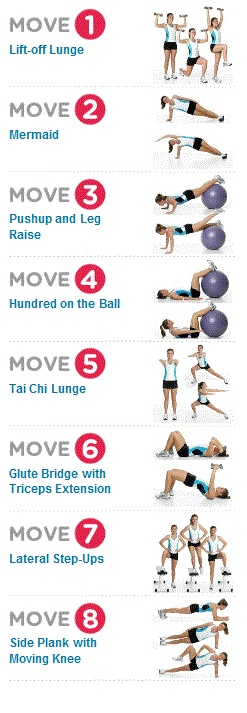 Hourglass figure workout at home