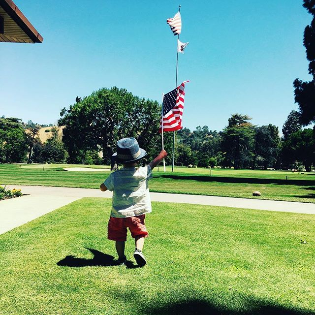 Justin Timberlake and Jessica Biel's son Silas got in the spirit of July 4! See other celeb kids celebrating!