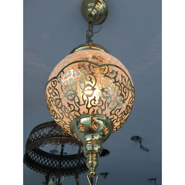 On Hanging Light Ottoman Turkish Lamps Moroccan Lantern Chandelier ($159) ❤ liked on Polyvore featuring home, lighting, ceiling lights, grey, home & living, grey lamp, euro lighting, european lighting, incandescent lights and incandescent lamp