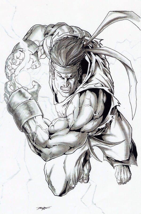 Street Fighter - Ryu by Terrence Belgarde *