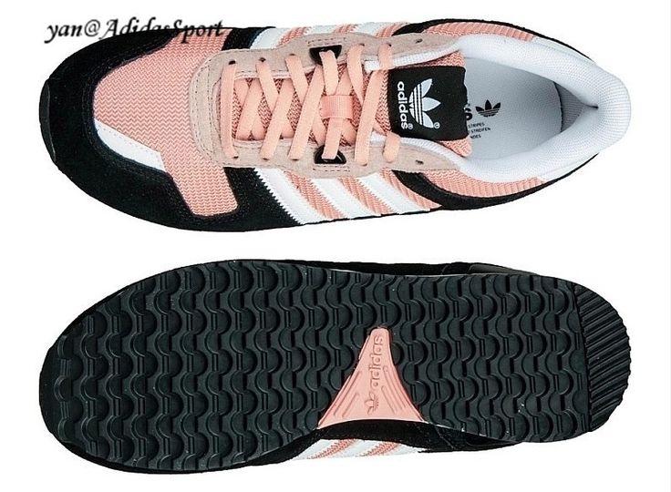 Dames Adidas Originals Zx 700 Sneakers Licht Zalm/Zwart/Wit | Fashion | Pinterest | Adidas Originals, Adidas and Sneakers