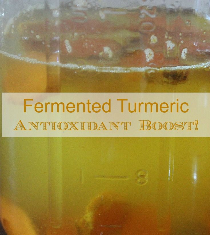 It's easy to create this immune boosting turmeric bug! Combine sugar, water and fresh turmeric.