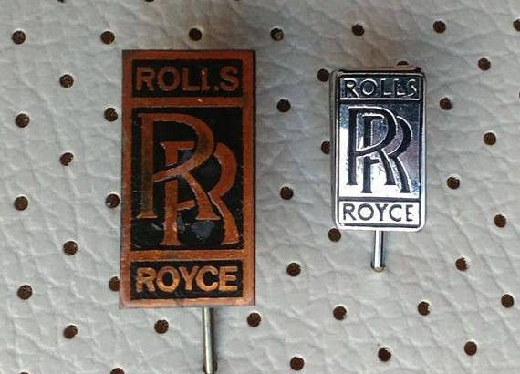 Classic Cars – Rolls Royce Car Vintage Pin Badges Very Rare  – a unique product by magicbus on DaWanda