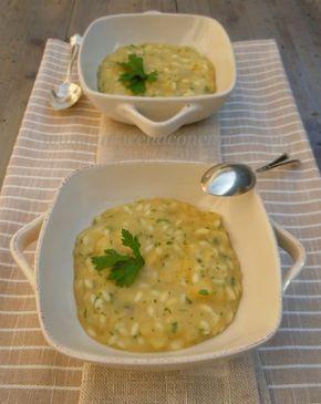 minestra di patate riso e prezzemolo alla veneta Sfiziosa, semplice, naturale, economica…