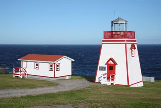 Fortune Head lighthouse [c. 2002 - Fortune, Newfoundland & Labrador, Canada]