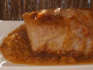 Lomo en Salsa de Manzana - Recetas Saludables Para Hipertensos