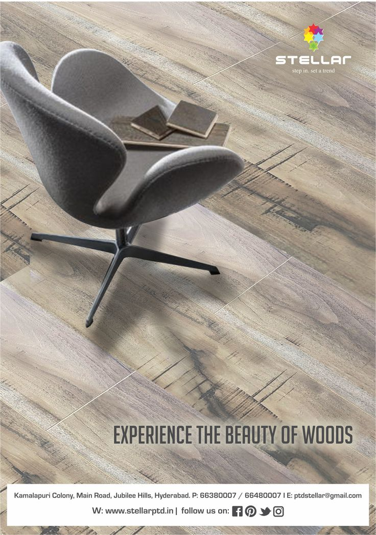 Presenting you, the most distinctive collection of wood floors from #Stellar #Hyderabad. Inspired by nature, Stellar wood floors ensure that every step you take in your house feels like a walk in the woods. To view our collection visit our showroom Stellar#woodfloors #woodenflooring #homedecor #interiordesign #interiordesignideas #wood #design #typesofflooring #floorings #homeinteriors #architect #outdoordecor #indoordecor #renovate #remodelling  #luxuryliving #classicinterior