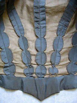 inside detail of a jacket | Aram Costume House, Paris