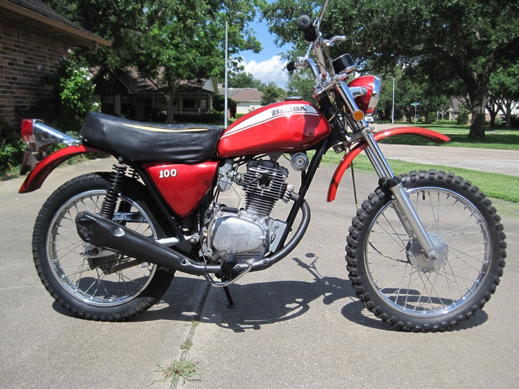 19 best honda sl motorcycles images on pinterest biking rh pinterest com 1978 Honda CB750K Wiring-Diagram 1971 honda sl100 wiring diagram