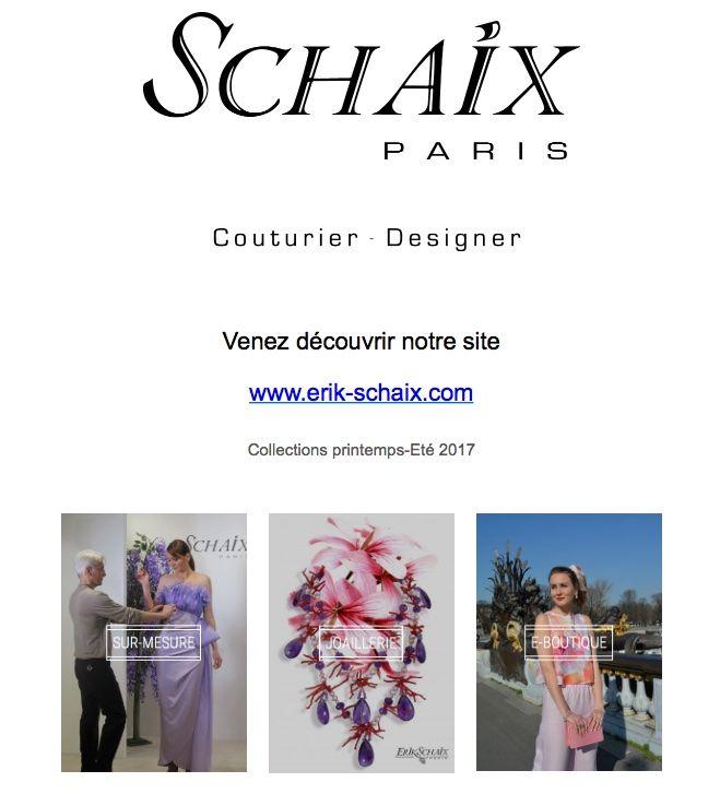 Welcome Erik Schaix Paris