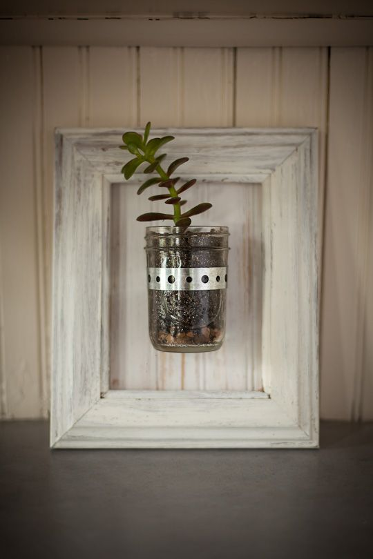 Mason Jar Wall Sconce from Bourbon & Boots. Very cool.