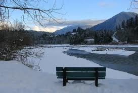 A winter's day at the Vedder River