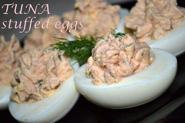 Tuna stuffed eggs   DUKAN DIET RECIPES