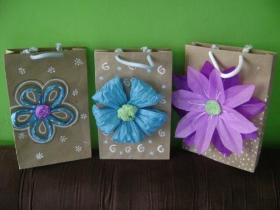 3422 best images about cajitas y bolsas de papel o tela on - Bolsa de papel para regalo ...