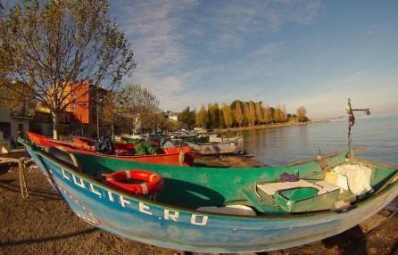 I pescatori del lago di Bolsena.  Paesi, paesaggi - Striscia la notizia